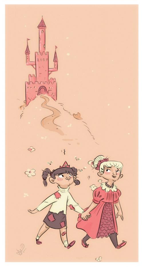 Иллюстратор Lesley Vamos (Lelpel) (184 работ)