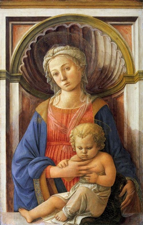 Филиппо Липпи - флорентийский живописц, мастер раннего итальянского Возрождения (198 работ)