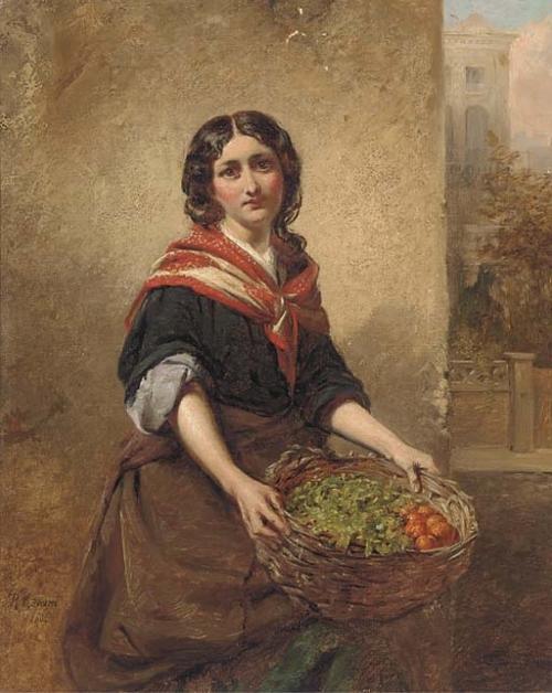 Английский художник Robert Kemm (1837-1895) (52 работ)