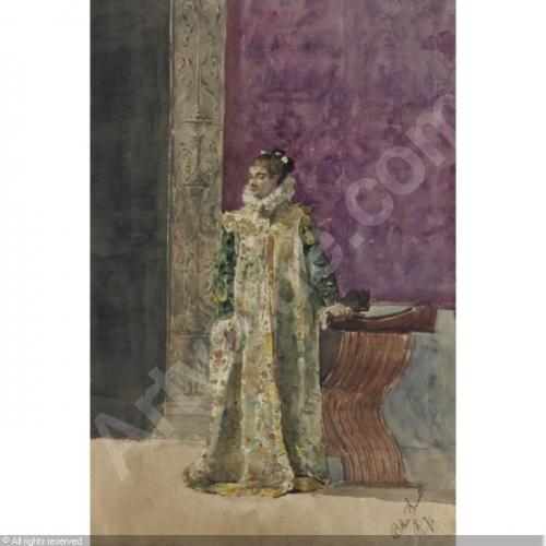 Итальянский художник Ettore Simonetti (1857-1909) (32 работ)