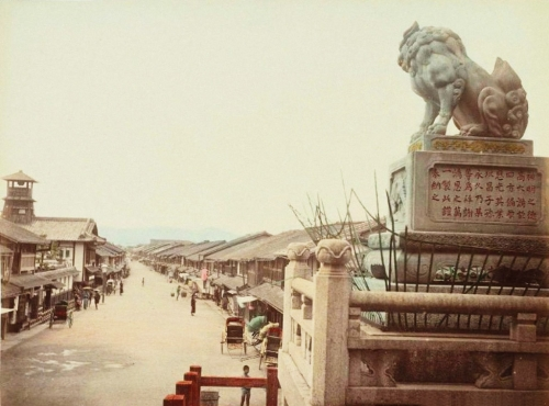 Старая Япония XIX век (31 фото)