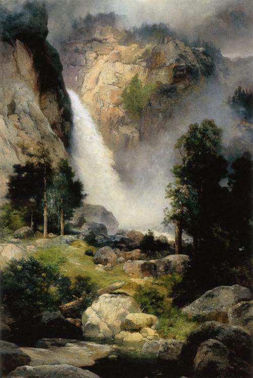 Художник Thomas Moran (1837-1926) (60 работ)