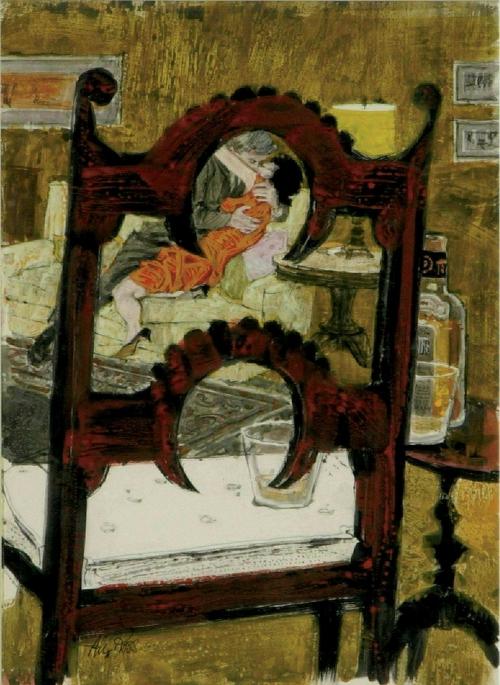 Американский художник и иллюстратор Alexander Sharpe Ross (25 работ)