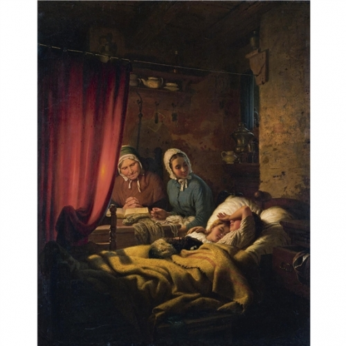Немецкий живописец Johann Georg Meyer von Bremen (109 работ)