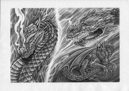 Tattoo Flash - Sheets + Lines set 4 (151 работ)
