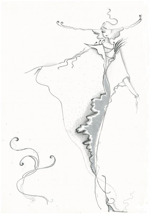 Эскизы одежды от Lnatalia (29 работ)