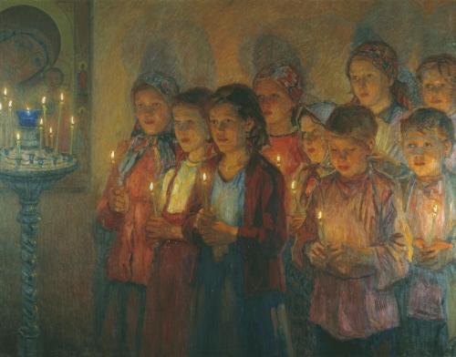 Богданов-Бельский Николай (1868-1945) (7 работ)