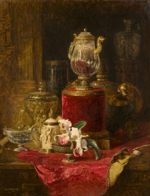 Blaise-Alexandre Desgoffe (1830-1901) (27 работ)