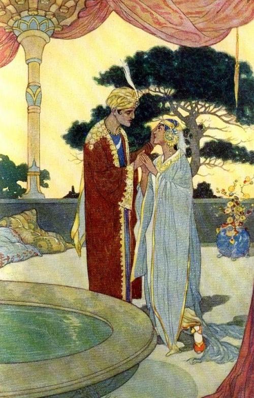 Иллюстратор Rene Bull (1872-1942) (51 работ)