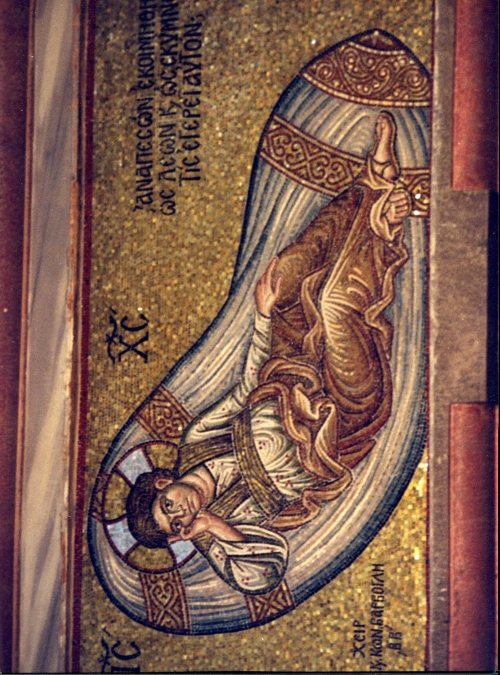 Иконы, мозаика, фрески Иисуса Христа (63 работ)