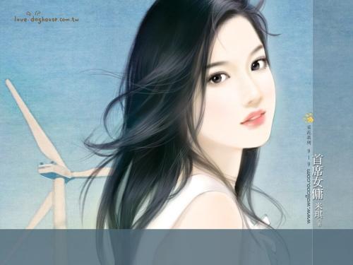Прекрасные китайские женщины (164 работ)