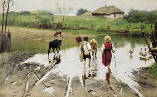 Пимоненко Николай (1862-1912) (5 работ)