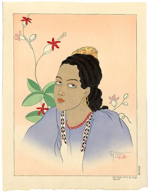 Графика Поля Жакле (Франция, Япония, 1902-1960) (48 работ)
