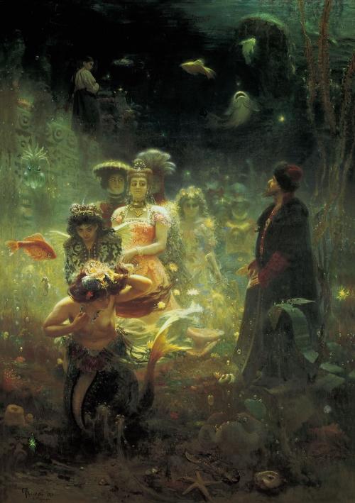 Репин Илья (1844-1930) (6 работ)