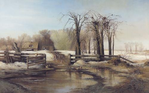 Саврасов Алексей (1830-1897) (9 работ)
