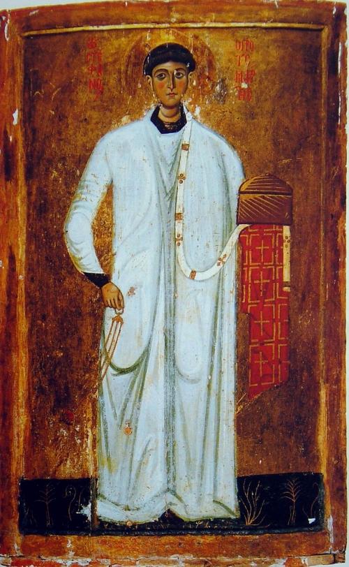 Византийские иконы святых мученников (40 работ)