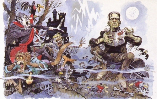 Cartoonist Jack Davis (251 работ)