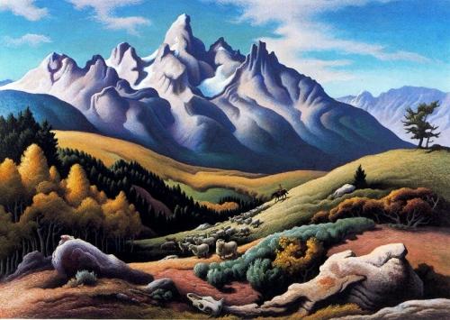 Картины западных художников маслом. Часть 75 (342 работ)