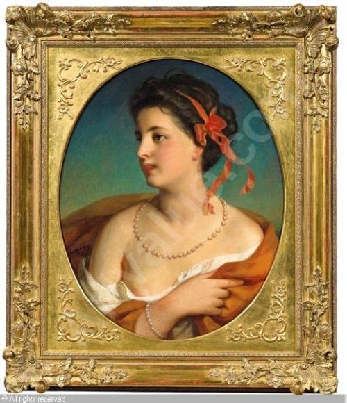 Австрийский художник Friedrich von Amerling (1803–1887) (135 работ)
