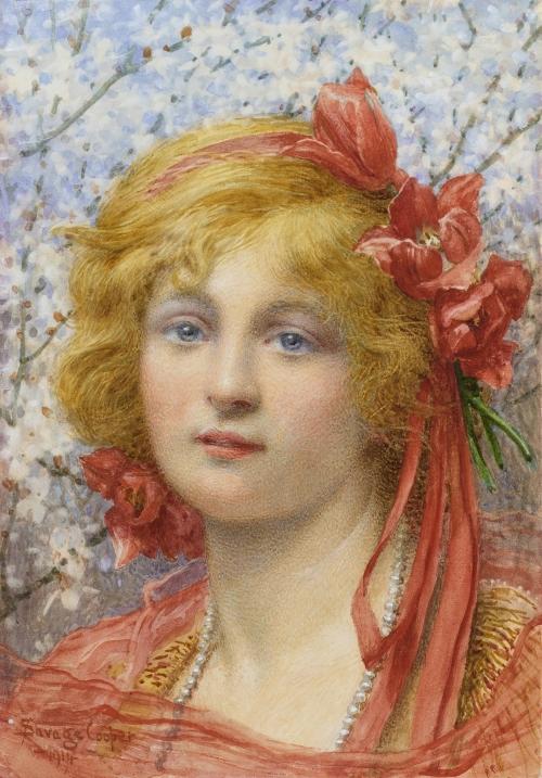 Английский художник William Savage Cooper (1863-1943) (24 работ)