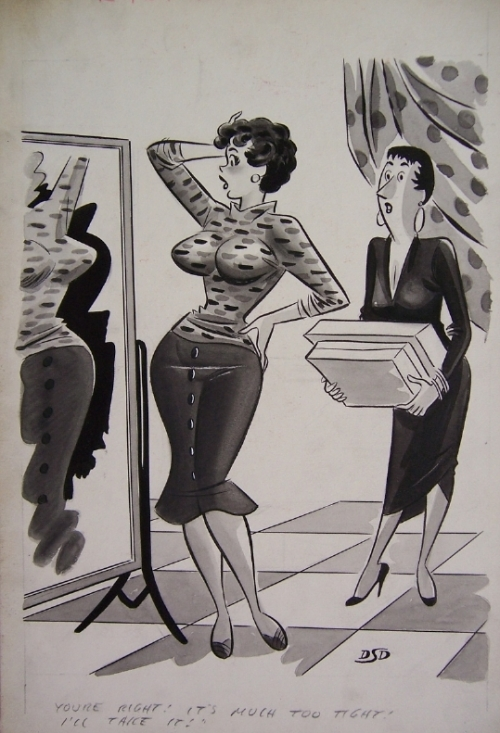American cartoonist Dan DeCarlo (147 работ)