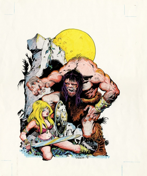 Art of Mike Ploog (155 работ)