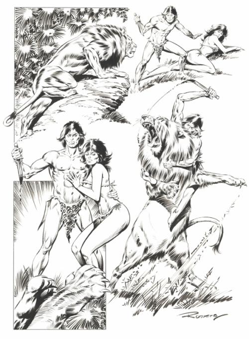 Художник и иллюстратор Enrique Badia Romero (60 работ)