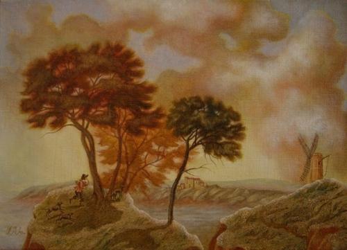 Современные художники - Ирина Добровецкая (19 работ)