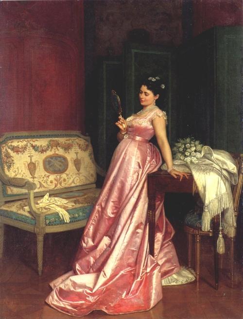 Французский живописец Auguste Toulmouche (1829-1890) (58 работ)