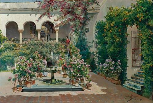 Manuel Garcia y Rodriguez (1863-1925) (47 работ)