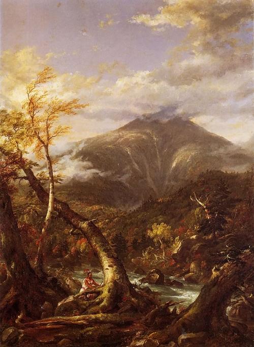 Художник Thomas Cole (1801-1848) (104 работ)