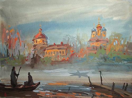 Живопись Вячеслава Короленкова (61 работ)