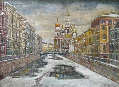Художник Анатолий Иванович Сивков (69 работ)