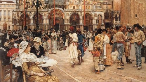 Картины западных художников маслом. Часть 81 (300 работ)