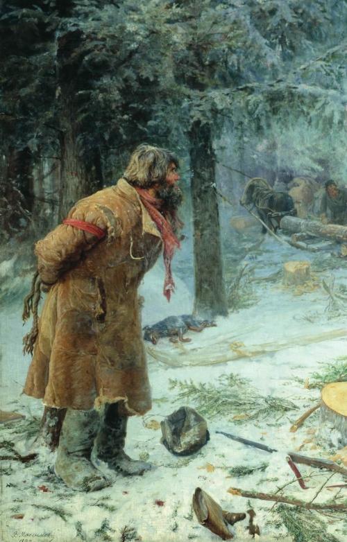 Художник Максимов Василий Максимович (1844-1911) (47 работ)