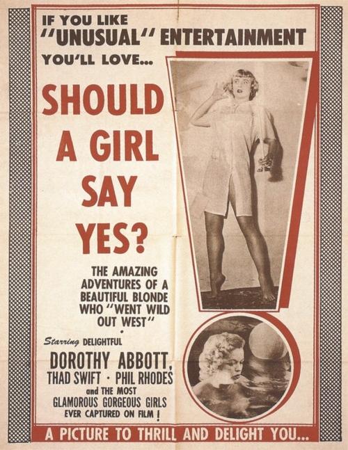 Старая реклама эротических фильмов (27 фото)