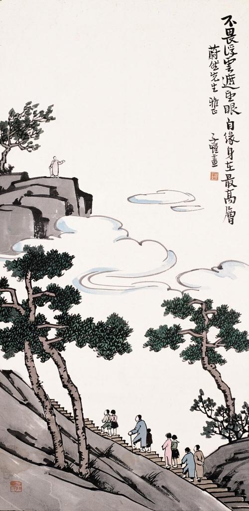 Китайский художник Фен Зикаи (Feng Zikai, 1898 - 1975) (135 работ)