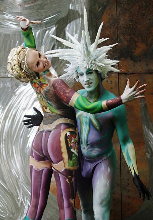 Всемирный фестиваль боди-арта 2011 (33 работ)