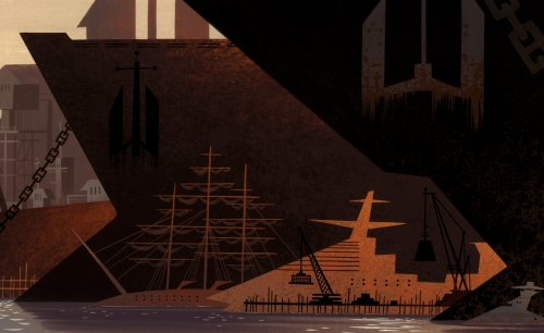 Animation Backgrounds painted by Scott Wills (74 работ)