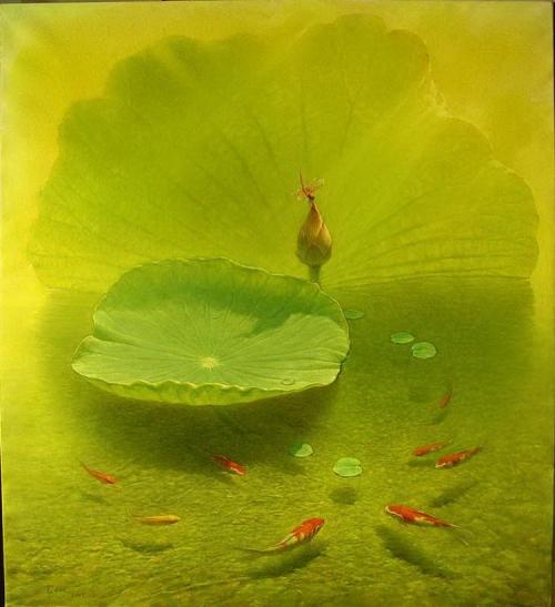 Художник Джиэнг Дебин (Jiang Debin) (13 работ)