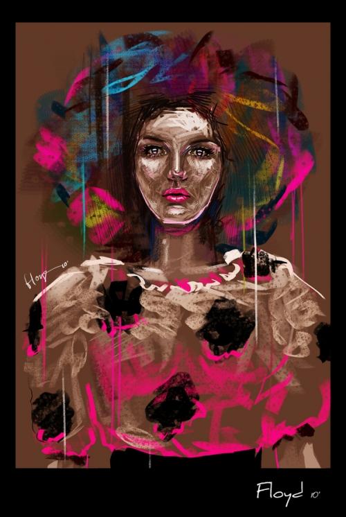 Fashion Illustrator Floyd Grey (66 работ)