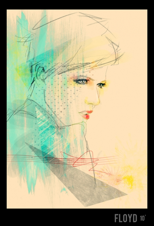 Fashion Illustrator Floyd Grey (66 работ)
