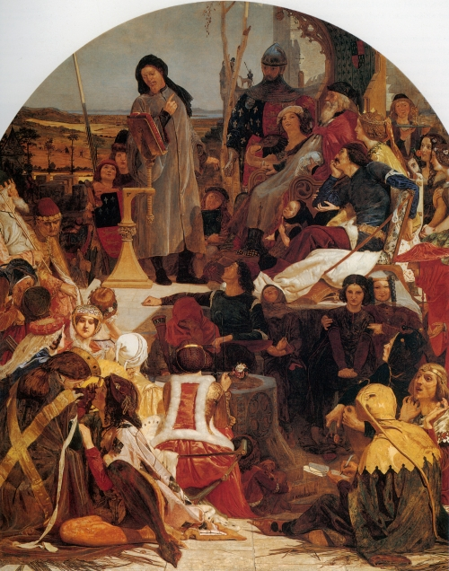 Художник Ford Maddox Brown (19 работ)