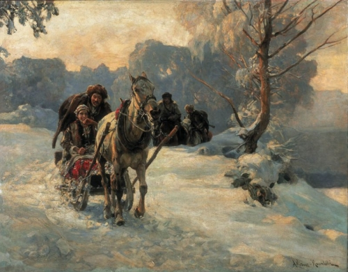 Художник Alfred Von Wierusz-Kowalski (29 работ)
