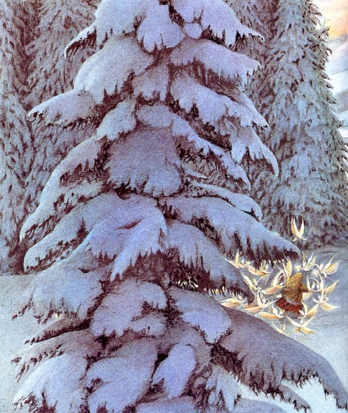 Иллюстрации Angela Barrett (32 работ)