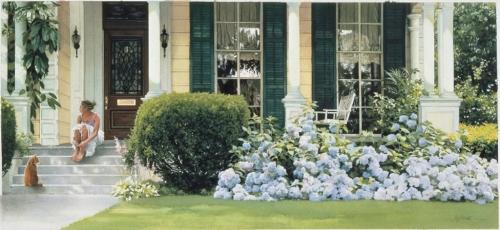 Прекрасная живопись художницы Хайде Е.Пресса. Дополнение | Heide E.Presse (43 работ)