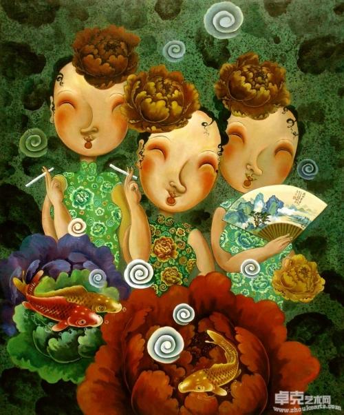 Художник Liu Jianhua (17 работ)