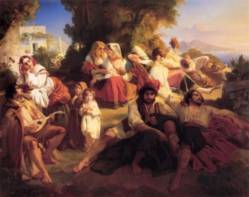 Художник Franz Xavier Winterhalter (72 работ)
