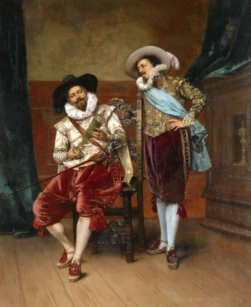 Французский художник Adolphe Alexandre Lesrel (1839-1929) (58 работ)