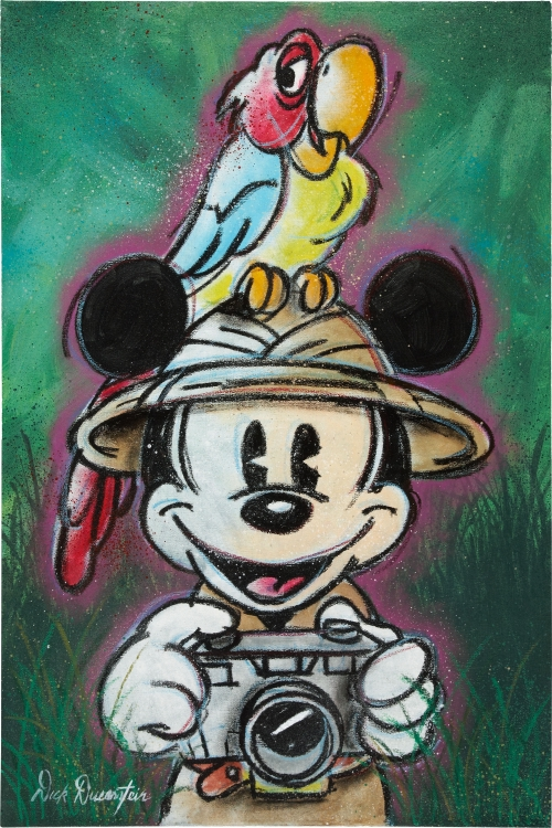 Dick Duerrstein - Disney Fine Art (79 работ)